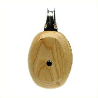 Enkelschijfsblok hout