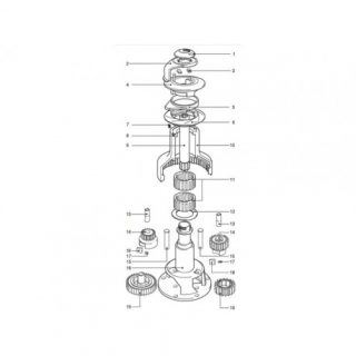 Lewmar collet kit